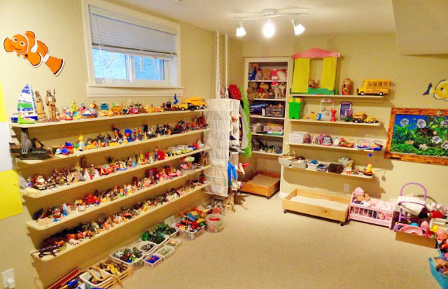 RMPTI play therapy room