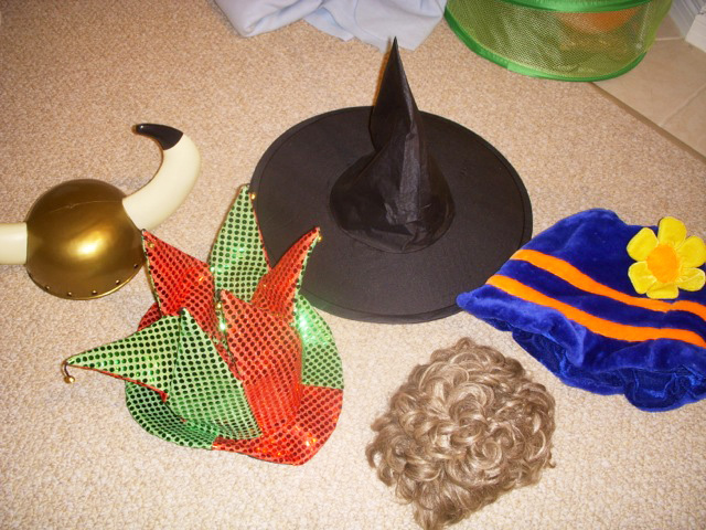 play therapy room costumes