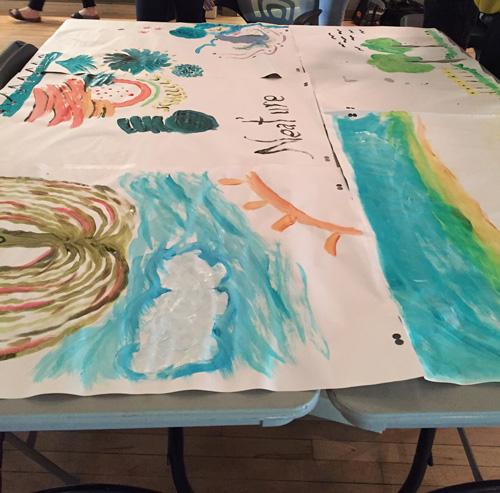 Green Stream 2017 paint